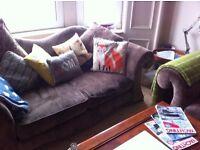 comfortable and fun 2 seater sofa £80