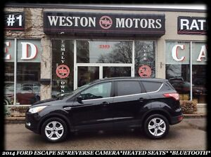 2014 Ford Escape SE*REVERSE CAMERA*HEATED SEATS*BLUETOOTH*