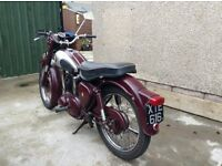 BSA 250 C11 1956 Motor Bike
