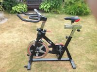 JLL Indoor Spin Bike Excellent condition - IC300 (2016 model)