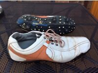 Footjoy Golf Shoes - size 11 - soft Spikes - bargain at £20