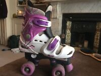 Osprey adjustable quad skates size 13-3