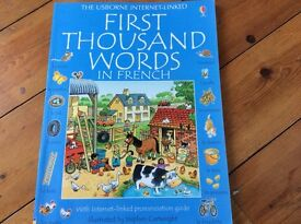 Usborne Kids book for learning french