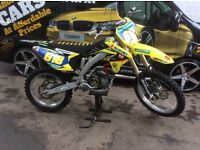 Rmz 250 efi 2011 few trick bits full fmf