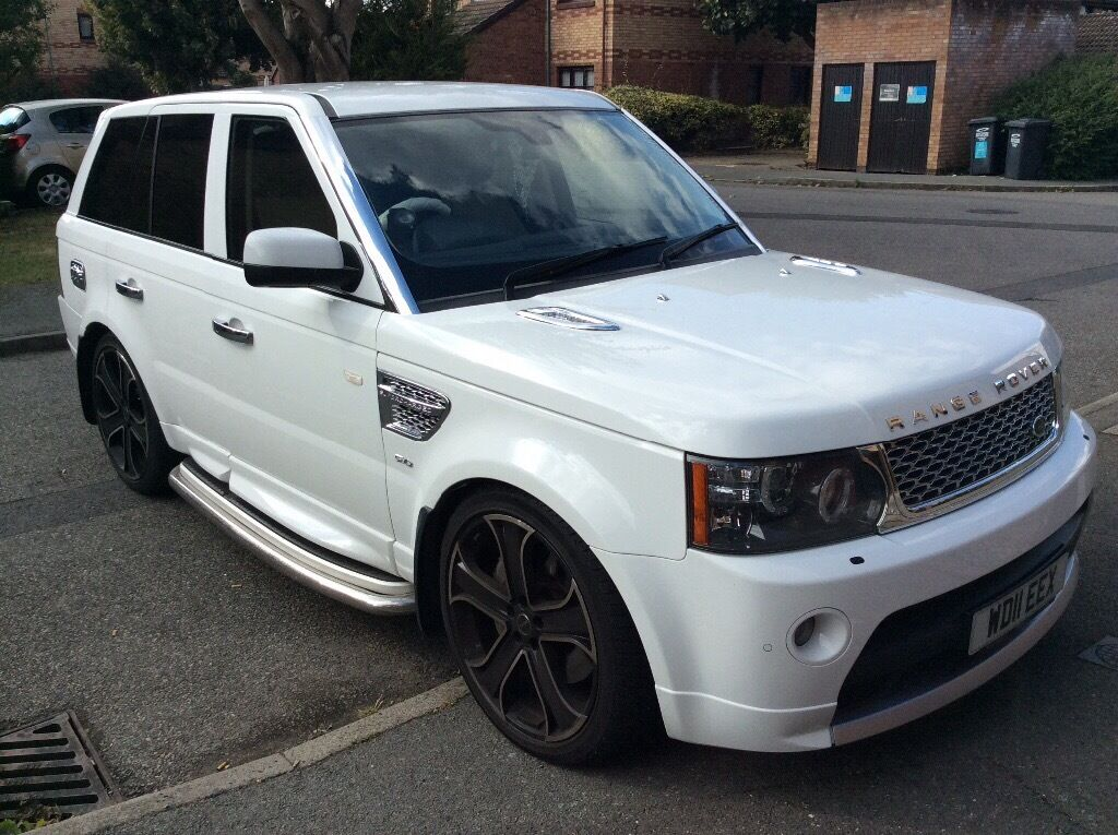 2011 white range rover sport 5l supercharged in dartford kent gumtree. Black Bedroom Furniture Sets. Home Design Ideas