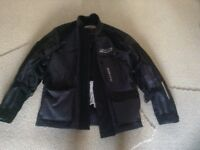 Motorcycle jacket as new