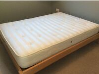 Habitat double bed with mattress