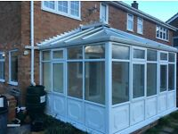 Full height Upvc White conservatory , dismantled , excellent condtion ,could deliver