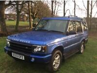 Land Rover discovery td5 s 7 seater (12 months Mot) *SERVICE RECORD* 6 months warranty