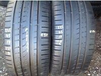 Used tyres - 235/45/17 x 2 - Pirelli/ (pair) unit 90 fleet road ig117bg barking open 7 days a week