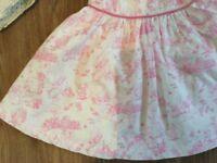 2 Baby Girls dresses 0-3months