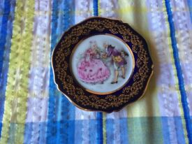 Small limoge plate