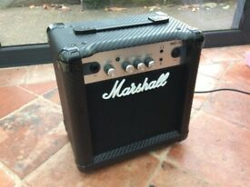 Marshall MG10CF Guitar Amp - as new