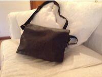 Ashwood leather shoulder bag
