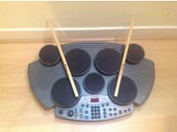 7 pad electric drum kit
