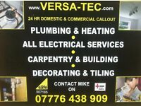 07776438909 - PLUMBER - HEATING ENGINEER - ELECTRICIAN - CARPENTER - JOINER