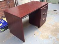 Home Office Desk and pedestal unit