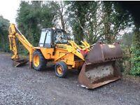 Case 580f digger loader