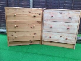 Pine MATCHING CHESTS ( 2 of )
