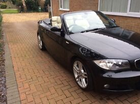 BMW 123d M sport coupe convertible