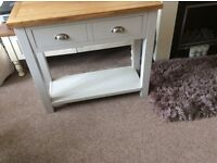 Matching Bedside Tables and Console Table.