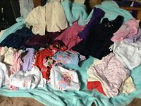 Gorgeous baby girls age 6 to 12 months clothes big bundle hardly worn as kept at grandparents