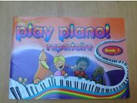 PLAY PIANO! REPERTOIRE BOOK 1; ALAN HAUGHTON