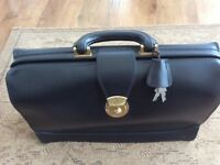 Dents Attache Style Black Briefcase