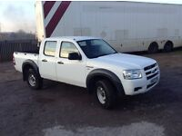 2007 ford ranger 2.5 tdci 4x4 crew cab pickup with a/c 1 owner only 117,000 miles