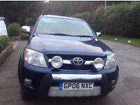 Toyota Hilux Invincible 2006 12 MONTHS MOT
