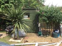7ft x 5ft Wooden Garden Shed - Pent Roof