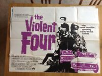 Original Film Poster - The Violent Four
