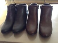 Boots - ankle - Good for the sole- Brand new - size 6 (39)