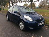 *2009*'59' *TOYOTA YARIS* 1.3 VVT-I TR* 24K MILES* F/T/S/H * 7. STAMPS* 1 OWNER* 1 YEAR M.OT*