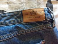 Ladies River Island Jeans - good quality- size 16