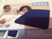 double blow up mattress