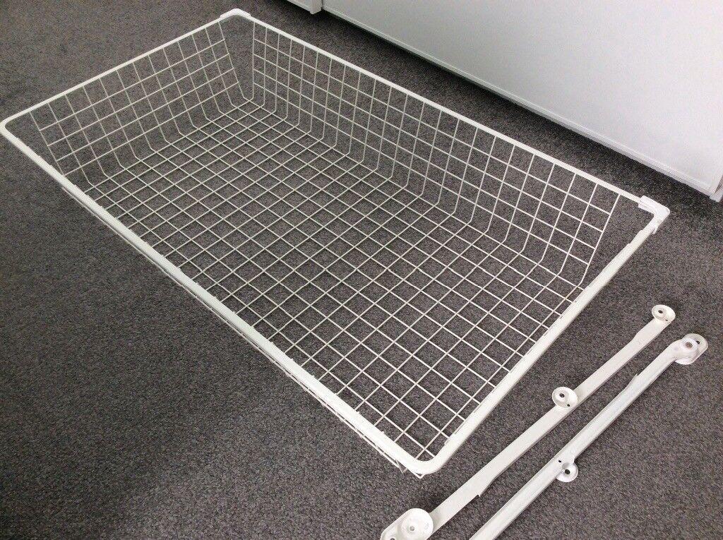 Ikea Komplement large basket storage on runners | in Lewes, East Sussex |  Gumtree