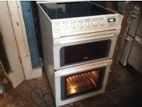 Ceramic cooker,white,550 MM wide,£150.00