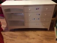 Sideboard/children's chest of drawers