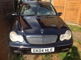 MERCEDES BENZ C-270 SALOON DIESEL AUTOMATIC