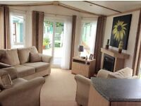 Preloved luxuary holiday home for sale on pet friendly 12month park near Lakes Lancaster & Morecombe