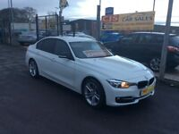 BMW 3 Series 2012 new model 2.0 turbo diesel 60000 fsh long mot fullyserviced £30 year tax may px