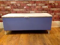 UPCYCLED STORAGE BOX STANDS ON LEGS - SEVRAL USES - CAN DELIVER IN DERBY