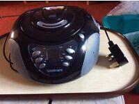 Goodmans Radio and CD player.