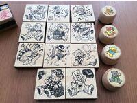 Stamping set
