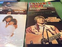 15 LP Vinyl Records mainly Country