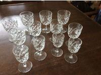 8 x 1960's Glasses