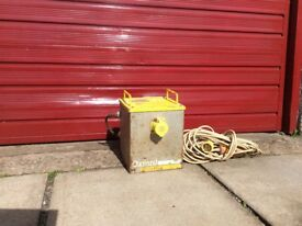 Oxford 110 Volt Transformer and extension cable