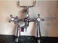 traditional Bath Mixer taps. vgc