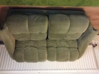 2 Seater Sofa/Converts to Bed